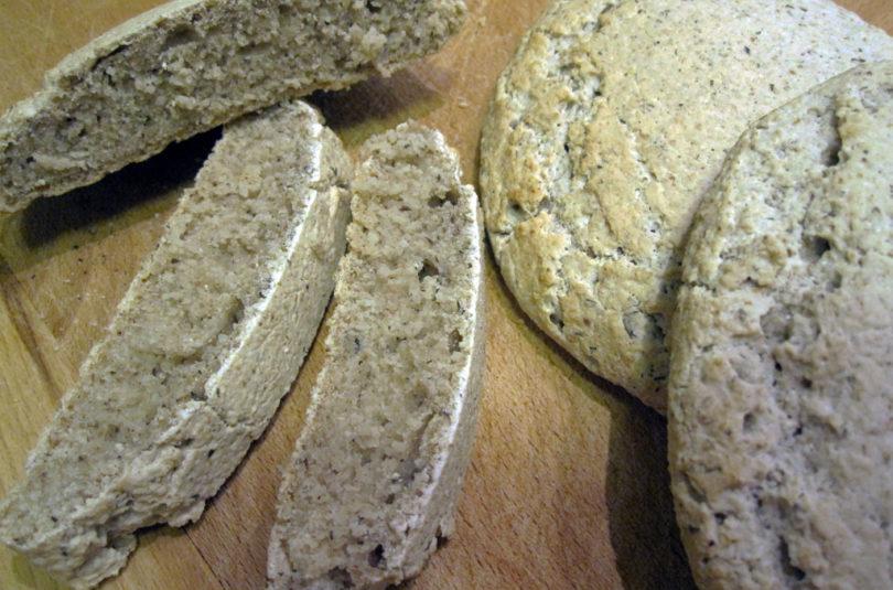 Pane senza glutine integrale semplice