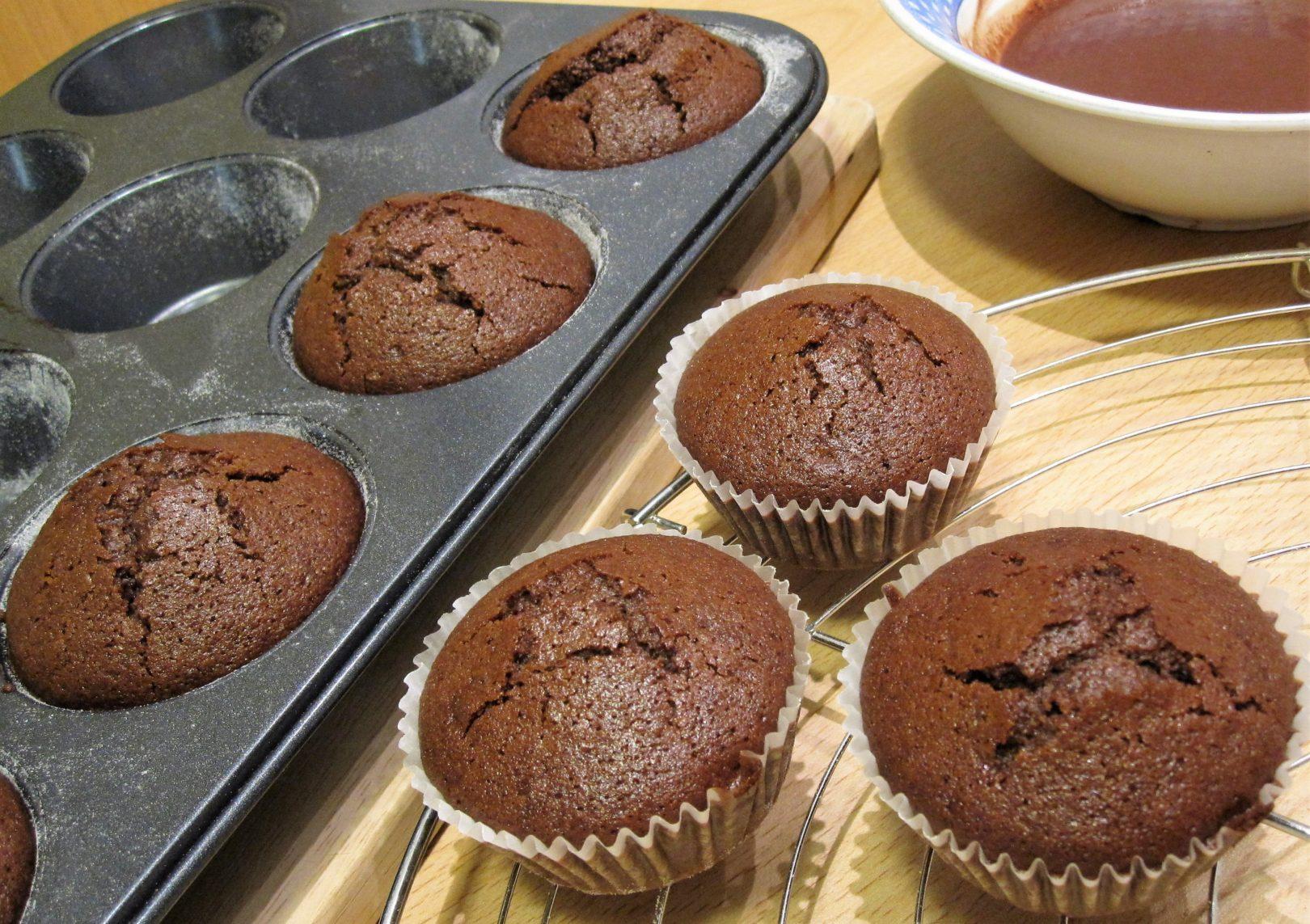 Muffin senza glutine al cacao
