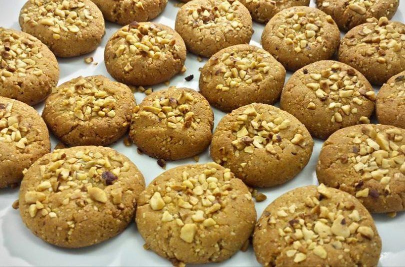 Biscotti alle nocciole (senza glutine e senza zucchero)
