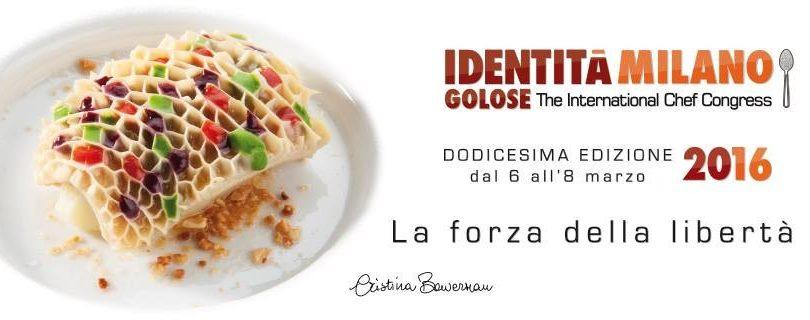 Identità Golose Milano 2016
