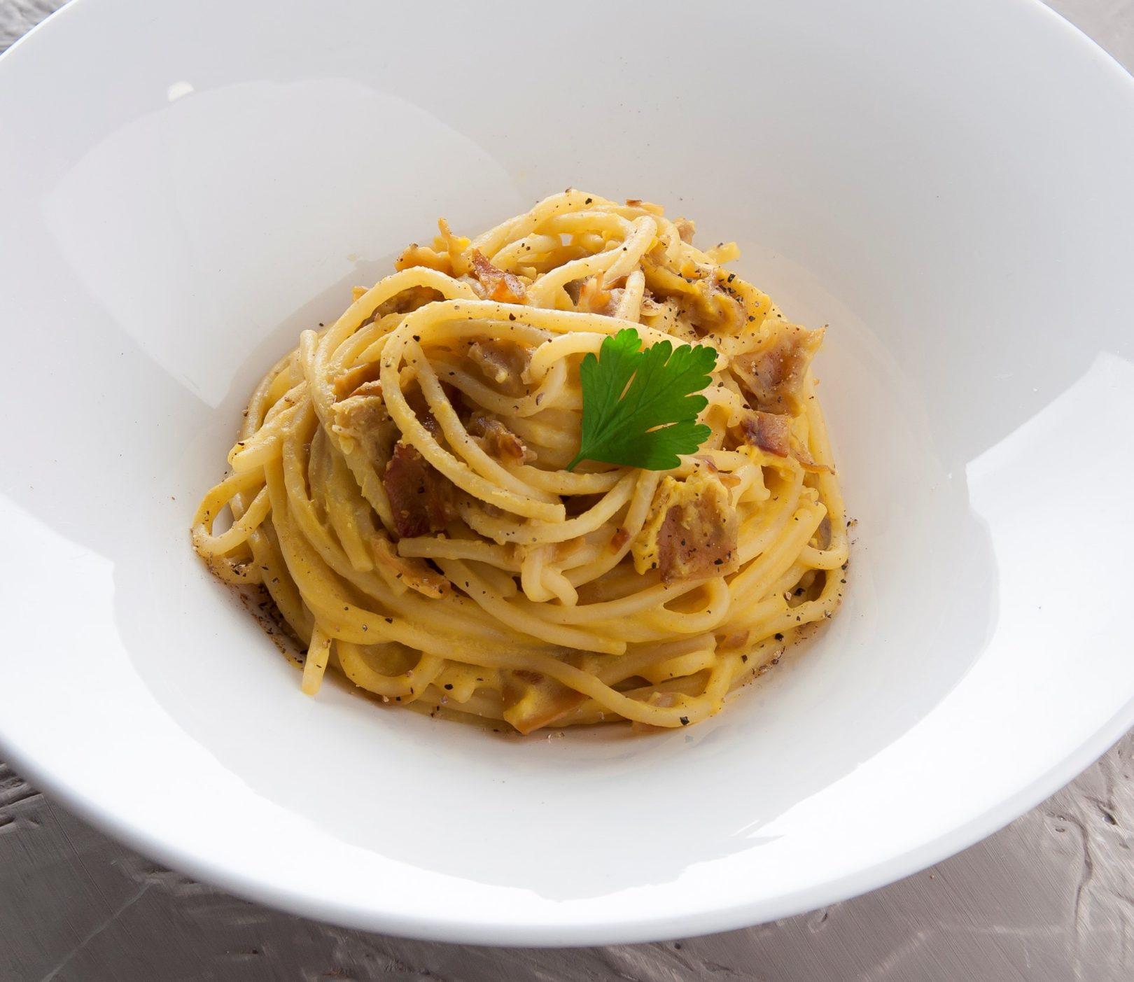 """Spaghetti alla """"carboveg"""""""